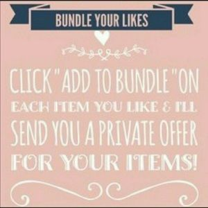 Bundle I'll give you awesome deal